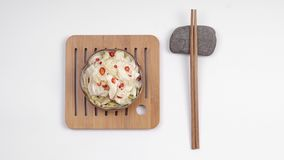 Sichuan gastronomische Kimchi, stock afbeelding
