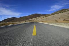Sichuan Inagi Aden Bowa Mountain Highway Lizenzfreies Stockfoto
