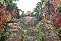 Sichuan Leshan Giant Buddha. Leshan Giant Buddha in Mt Emei of china royalty free stock photography