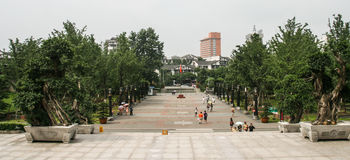 Sichuan museum in chengdu,china Royalty Free Stock Images