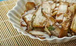 Sichuan Napa Cabbage. Suan La Bai Cai, vegetable e dish in China royalty free stock photography