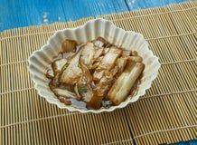 Sichuan Napa Cabbage. Suan La Bai Cai, vegetable side dish in China royalty free stock image