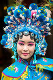 Sichuan Opera actress Royalty Free Stock Photography