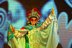 Sichuan opera arts in China: Change the face Stock Photos
