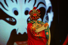 Sichuan opera arts in China: Change the face Royalty Free Stock Images