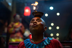 Sichuan opera - Chengdu Royaltyfri Foto
