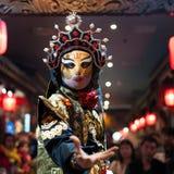 Sichuan opera - Chengdu Arkivfoton