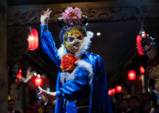Sichuan opera - Chengdu Royaltyfria Foton