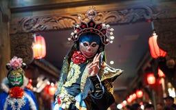 Sichuan opera - Chengdu Fotografering för Bildbyråer