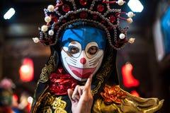 Sichuan opera - Chengdu Royaltyfri Fotografi