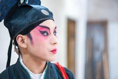 Sichuan opera - Chongzhou Arkivfoton