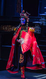 Sichuan opera face Royalty Free Stock Image