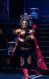 Sichuan opera face Royalty Free Stock Photo