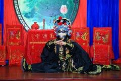 Sichuan operaframsida Fotografering för Bildbyråer