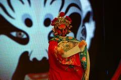 Sichuan operakonster i Kina: Ändra framsidan Royaltyfria Bilder