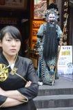 Sichuan operaskådespelare Fotografering för Bildbyråer