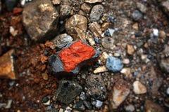 Sichuan-Rot-Felsen Stockbild