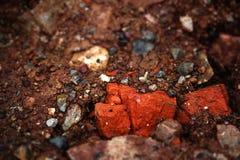 Sichuan-Rot-Felsen Lizenzfreies Stockbild
