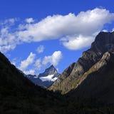 Sichuan Shuangqiao Gou Siguniang Nature Imagen de archivo