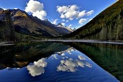 Sichuan Shuangqiao Gou Siguniang Nature Royaltyfri Foto