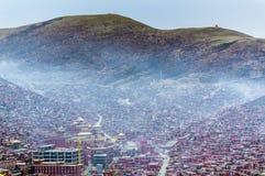 Sichuan Tibetan scenery Stock Photos