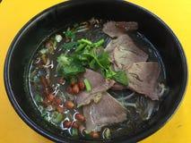 Sichuan vermicelli βόειου κρέατος Στοκ φωτογραφία με δικαίωμα ελεύθερης χρήσης