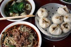 sichuanese frukost Arkivfoto
