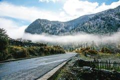 Sichuans Land-Straße von China Stockbild