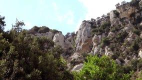Sicilië, canion stock video