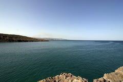 Sicilia, Cala Mosche Landscape fotos de archivo libres de regalías