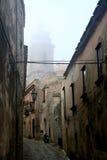 Sicilia. Eriche Foto de archivo