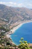 Sicily Sicilia Taormina Stock Photography