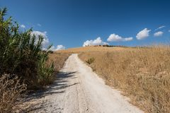 Siciliaans land 1 Stock Afbeelding