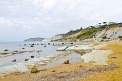 Siciliaans strand Royalty-vrije Stock Afbeelding