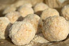 Siciliaanse arancino Stock Fotografie