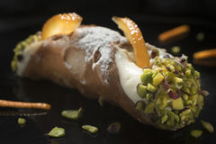 Siciliaanse cannolo royalty-vrije stock foto's