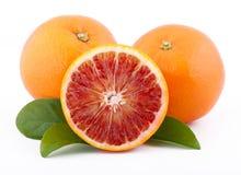 Siciliaanse rode sinaasappelen Stock Foto's
