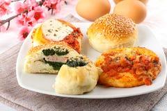 Siciliaanse rotisserie Stock Foto's
