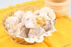 Sicilian almond cakes Stock Photography