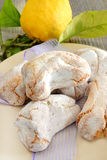 Sicilian almond paste Royalty Free Stock Photo