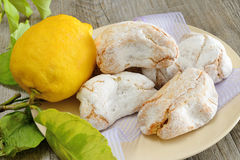 Sicilian almond paste Royalty Free Stock Images
