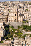 Sicilian architecture. Typical architecture detail of old sicilian town Royalty Free Stock Images