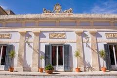 Sicilian architecture Stock Photos