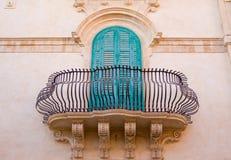 Sicilian architecture Stock Image