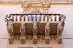 Sicilian architecture Stock Photo