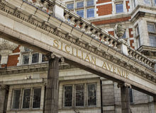 Sicilian Avenue in London Stock Photos