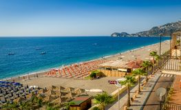 Sicilian beach Stock Photos