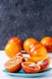 Sicilian blodapelsinfrukter Arkivfoto