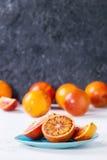 Sicilian blodapelsinfrukter Royaltyfria Foton
