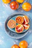 Sicilian blodapelsinfrukter Fotografering för Bildbyråer